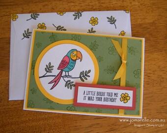 Belated Bird Birthday