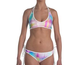 Tie-Dye Summer Bikini