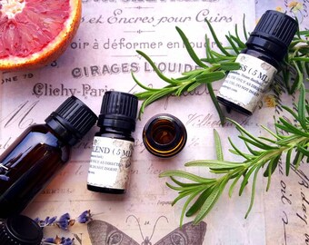 Terra Earth Essential Oil Blend. Patchouli, Amber, Vetiver, Ginger. 5 ML