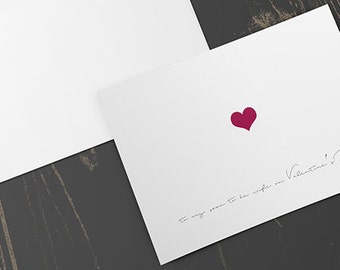 To My Soon To Be Wife Card, greeting card, valentines day card, soon to be wife, blank inside