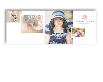 Photography Marketing Facebook Cover Template - LOVELY - 1294