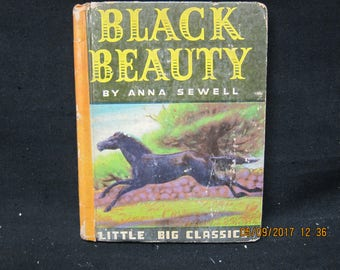 Little Big Classics Black Beauty by Anna Sewell - Illustrated  1938