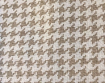 Tiny Houndstooth in Gray from Michael Miller Fabrics