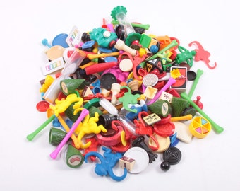 Craft Lot 1 Pound of Vintage Board Game Pieces Parts, Plastic For Crafts, 1lb Projects, Fun 100+ Bits ~ The Pink Room ~ 170106
