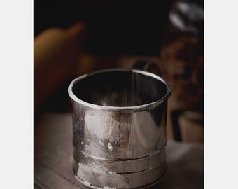 Sifter Photo, Metal photo, Shiny metal photo, Kitchen Art, Food & Drink, Farm House, Cooking, Dining, Kitchen Photo