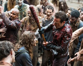 The Walking Dead Negan and The Walkers  8.5x11 Photo #1122-66