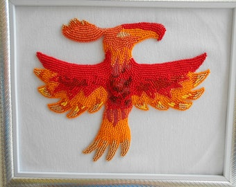 Philomena Phoenix My Little Pony Beads Embroidery Handmade