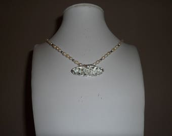 Fine Silver Pendant and Necklace