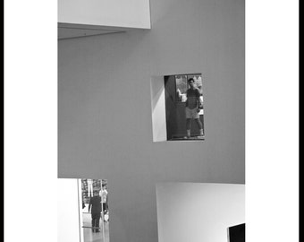 MoMa, Museum of Modern Art, New York City, Fine Art Photography, Black and White.
