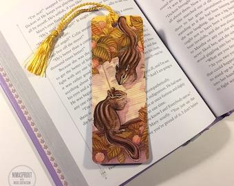 Chipmunks - Bookmark