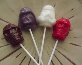 10 Space Fighter Party Favor Lollipop Sucker Candy
