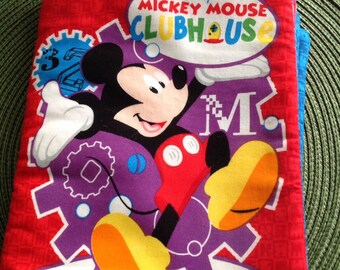 Mickey Mouse Clubhouse fabric book