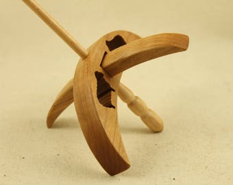 Cut-out Sheep Turkish Drop Spindle