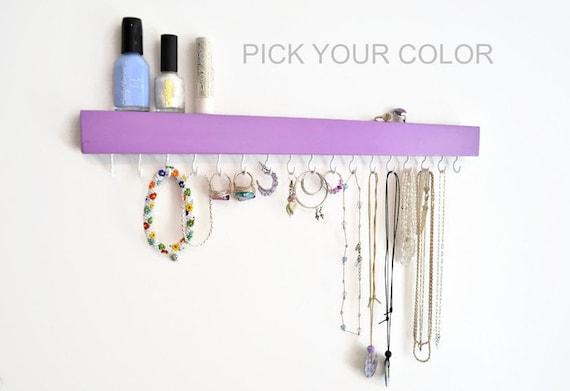 Modern Jewelry Organizer Wall Jewelry Holder Necklace