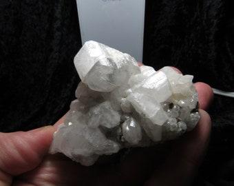 UV Active calcite with Pyrite from El Hamman, Morocco