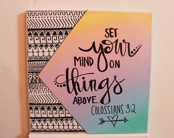 Set Your Mind on Things Above