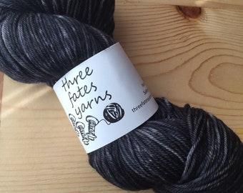 woodsmoke #3 - terra sock, fingering weight sock yarn