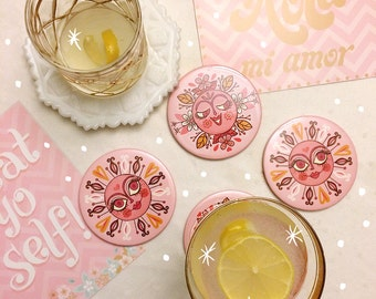 Sunshine Coasters 4 pack