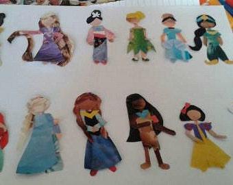 Disney Princess Collection Collage