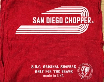 Classic Shoprag industrial by SanDiegoChopper (set of 3 pieces) 100% cotton