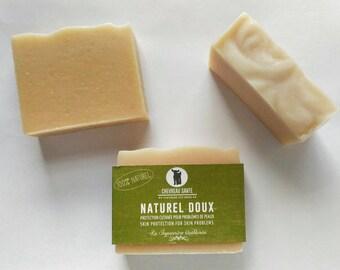 Savon Lait de Chèvre, Savon artisanal fait main 100% naturel, Goat Milk Soap, Cold process All Natural Handmade Soap