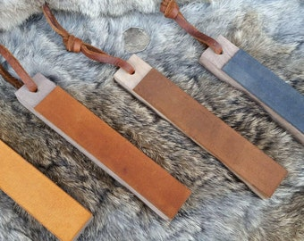 Field Pocket Strop - With Leather Thong Pull