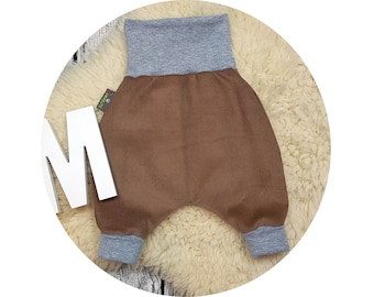 Baby pants, baby, wax trousers, Pumphose, harem trousers, corduroys, trousers,