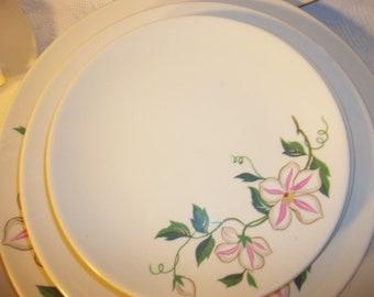 Vintage Knowles Dinnerware Set, Set for 4