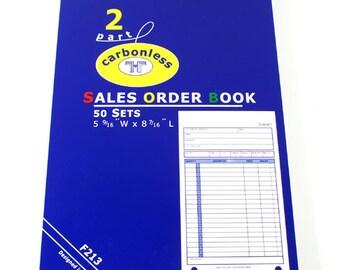 Sales Order Book - 62-213