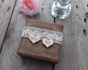 Ringbox square-wedding/wedding/ring casket/Ring Box