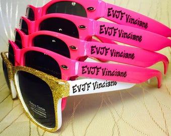 Bachelorette EVJF Sunglasses for your enterrement de vie de jeune fille/UK/Australia/French/hen party/last night out/girls trip