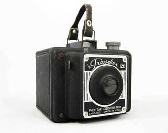 Vintage Time Traveler 120 Camera by Pho-Tak. Circa 1940's.