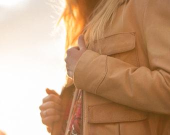 Found leather jacket