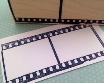 Film Strip  Rubber Stamp 6353