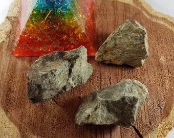 Set of THREE Medium Chrysoprase Raw Chunks! ~Witch, Mystic, Crystal Grid