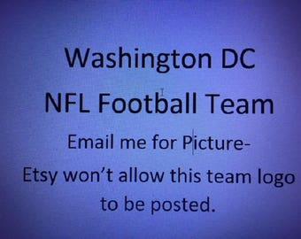 Washington DC NFL Team Infant Bunting, Baby Sleeping Bag, Baby Sleeper, Baby Pajamas