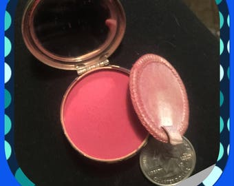 Vintage blush compact