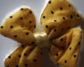Pretty fabric bowtie