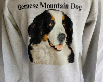 Vintage Bernese Mountain Dog Over Print by Teletrend COLSOH US M / EU 48-50 / 2