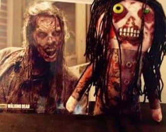 Terminus Walker (Tim Proctor) - Inspired by TWD - Creepy n Cute Zombie Doll (P)