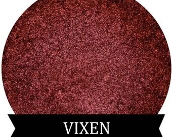 Metallic Red Eyeshadow VIXEN Mineral Makeup