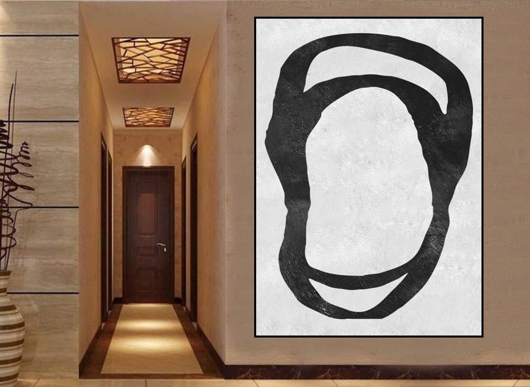 Zeitgenössische Kunst Extra große abstrakte Malerei große