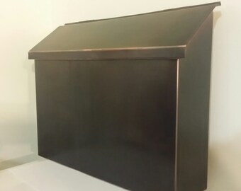 Patina Copper Mailbox