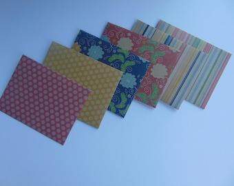 Snail Mail Envelopes >> set of 6, Snail Mail, Penpals, Stationery, Envelopes