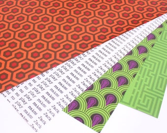The Shining Wrapping Paper (2 Sheets)