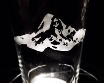 Mt. Hood pint glasses 16oz