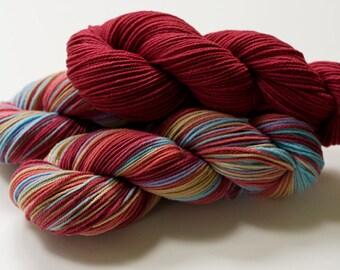 Colorway Recipe: Camilla for dyeing on wool yarn.
