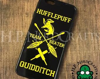 Hufflepuff Quidditch Phone Case