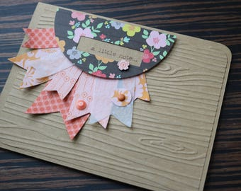 a little note.....  greeting card