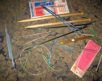 14 Sets of Knitting Needles/Variety of Sizes Knitting Needles